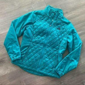 The North Face Teal Thermoball Winter Jacket